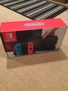Brand New Unopened Nintendo Switch Console - Neon Version
