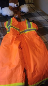 Brand new xl insulated bib pants for sale