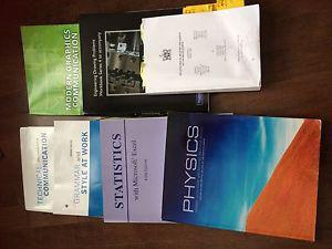 Engineering books 1styear.