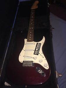Fender stratocaster guitar brand new condition!! &Marshall