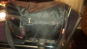 FisherPrice Black Diaper bag