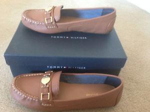 For sale women's Tommy Hilfiger shoes- size 8.5. Brand New.