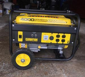 Generatrice Generator  watts a vendre/for sale