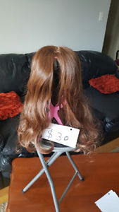 Gorgious Long Wavy Dark and Light Brown Hair Wigs