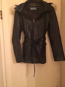 Imported leather jacket size large