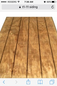 Looking for cedar or pine. Also smart siding