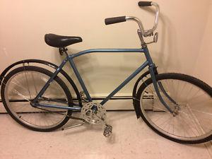 Men's Single Speed Cruiser Bike, (26 Inch tires)