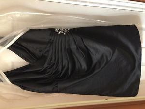 Morilee satin dress