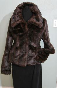 NEW Women's Suzy Shier Beautiful Faux Mink Fur