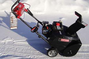 New Craftaman Snow Blower