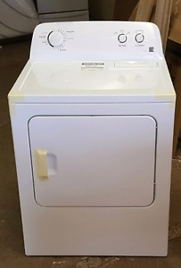 New Kenmore dryer never used