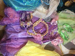 Rapunzel dress and hair head band