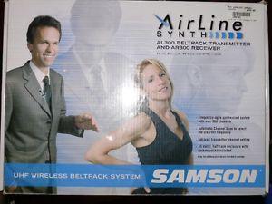 Samson UHF Wireless Mic Package NIB