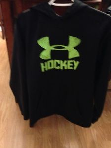Under Armour Hockey Hoodie, Dry Fit shirt & Adidas Joggers