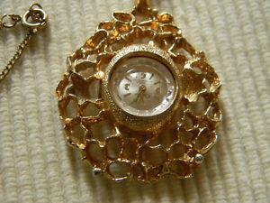 Vintage Clebar Swiss Pendant Watch 17 jewels