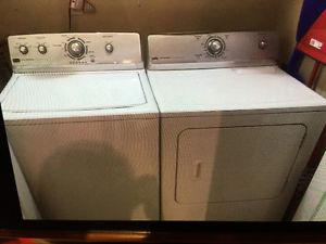 Washer and dryer for sale $275 ono