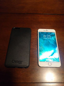iPhone 6s Plus w / OtterBox case and Apple warranty