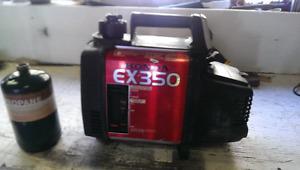 s Honda 350 watt generator