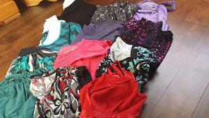 women's shirt size medium and large
