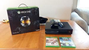 500GB Xbox One with 2 games