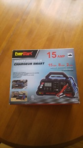 BRAND NEW EVER START BATTERY CHARGER $45