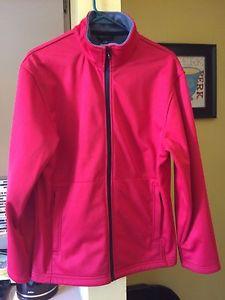 Beautiful Ladies Red soft shell jacket size xl