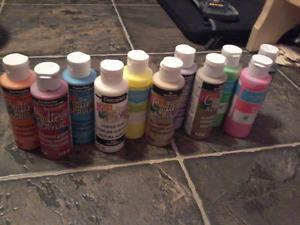 Brand New Never Used Acrylic Paints