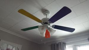 Ceiling Fan - Playroom / Kids Bedroom