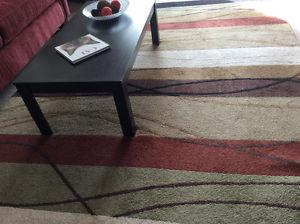 """Couch, Chair and 6'5"""" x 10' Rug"""