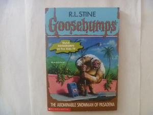 GOOSEBUMPS by R.L. Stine (Many to choose from)