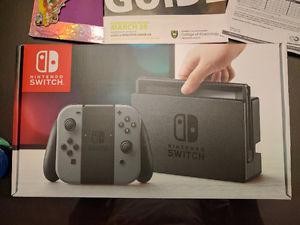 Grey Nintendo Switch unopened