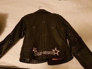 Harley Davidson women's leather jacket