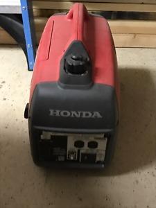 Honda EUi Generator!!!