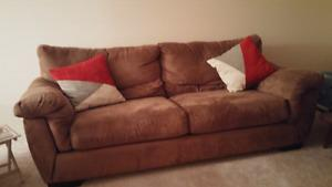 Large couch plus chair in excellent condition only $350