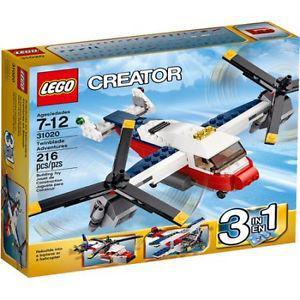 Lego creator twin blade adventures