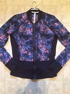 Lululemon If you're lucky jacket size 8