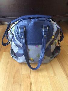 Lululemon light blue workout bag