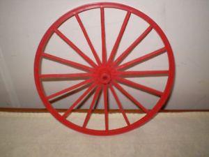 Marx Johnny West Toy Wagon Wheel