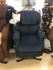 Power recliner lift chair