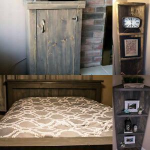 Rustic Wood Furniture - Last Cut Woodworking