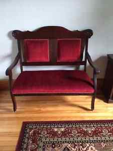 Set of furniture from the early s