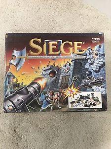 Siege battle board game