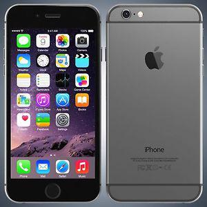 Space grey, 64GB. IPHONE 6. Locked with rogers