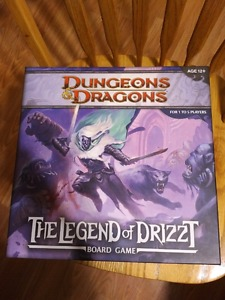 Wanted: The Legend of Drizzt Board Game