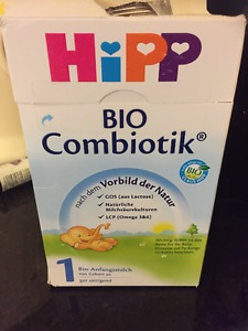 Wanted: WANTED: STAGE 1HIPP COMBIOTIC INFANT FORMULA