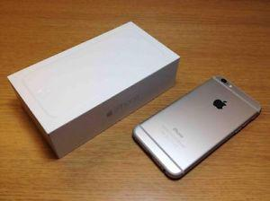 iPhone 6, 64 GB, Silver/White, like New