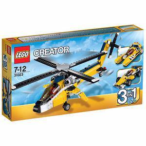 lego creator yellow racers