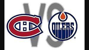 2 Tickets to Oilers vs Canadiens - Sunday, March 12