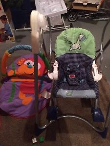 3in1 fisher price swing and rocker