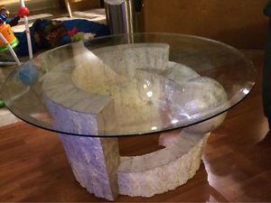 3pce coffee table set